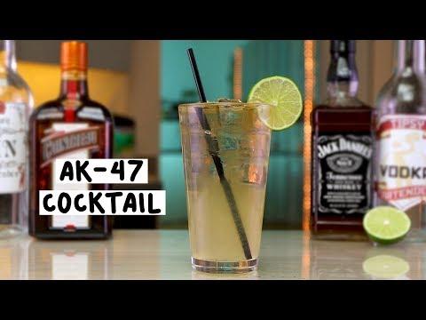 AK 47 Cocktail - Tipsy Bartender