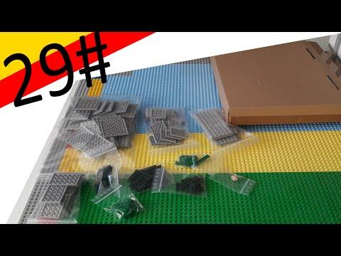 Lego Haul 29# Mehr Graue Platten für die Basis