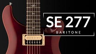 SE 277 Baritone | PRS Guitars