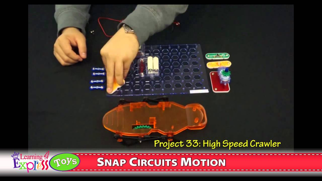 Snap Circuits Motion Set Youtube Extreme Sc 750 Review