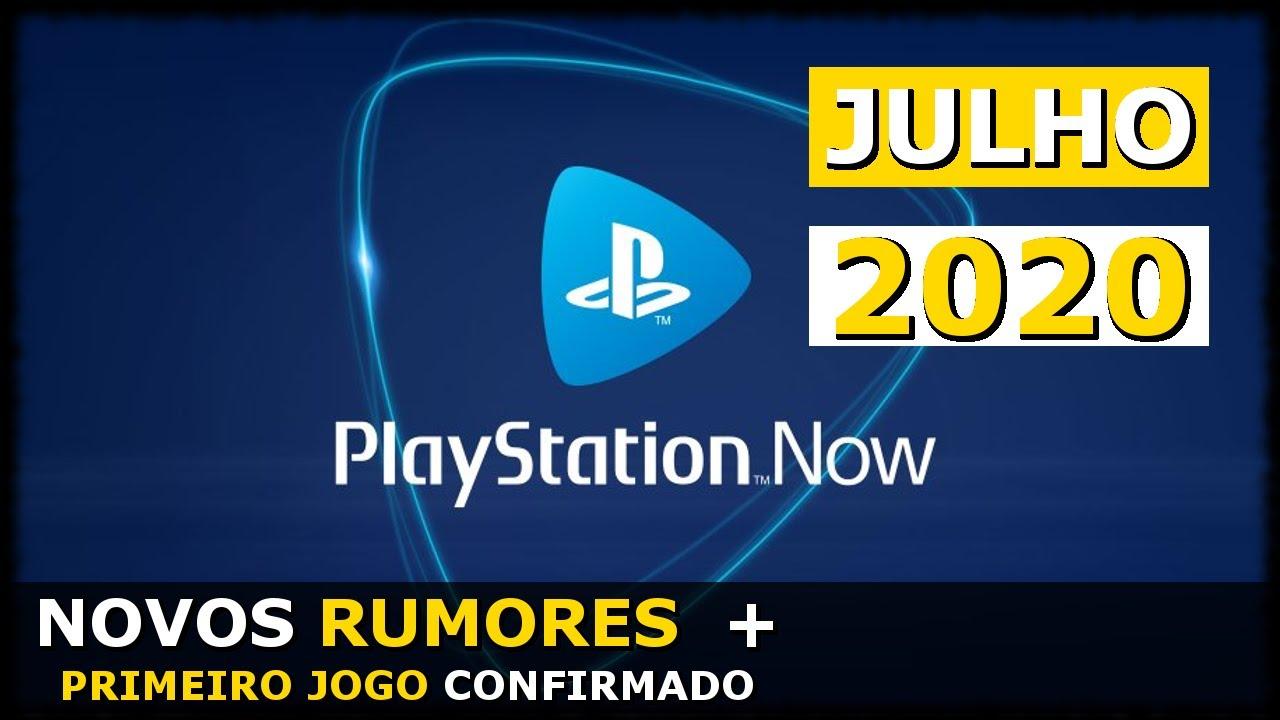 PS NOW JULHO 2020 | NOVOS RUMORES e O Primeiro Jogo Confirmado (PS4 PT-BR)