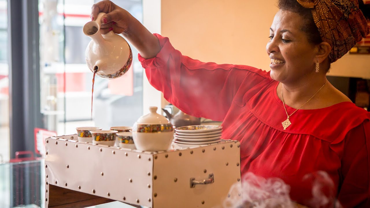 This Is How Buna In Toronto Makes Their Ethiopian Coffee