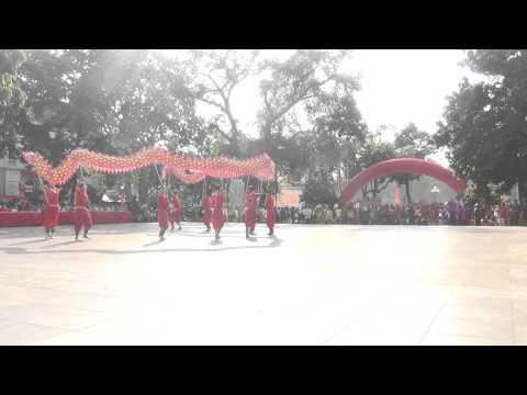 Đội rồng chùa Long Đẩu - huyện Quốc Oai