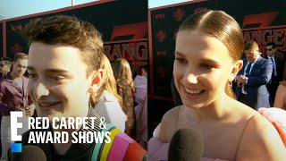 Noah Schnapp & Millie Bobby Brown Share Hopes for Next Season | E! Red Carpet & Award Shows