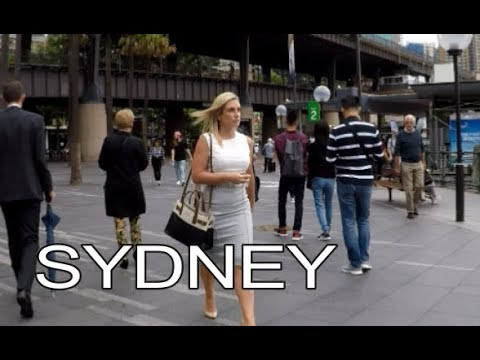 Sydney, Australia | Street Walk - Sydney Opera House And Harbour Bridge