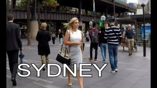 Sydney, Australia | Street Walk - Sydney Opera House and Harbour Bridge