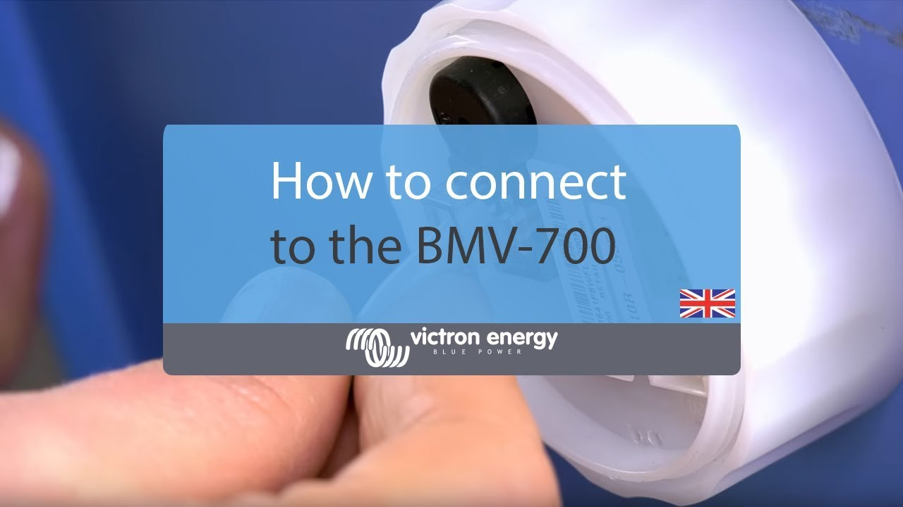 How To Connect The Bmv-700 Battery Monitor