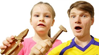 We staged a chocolate challenge | Kids Videos KybiBybi Colors