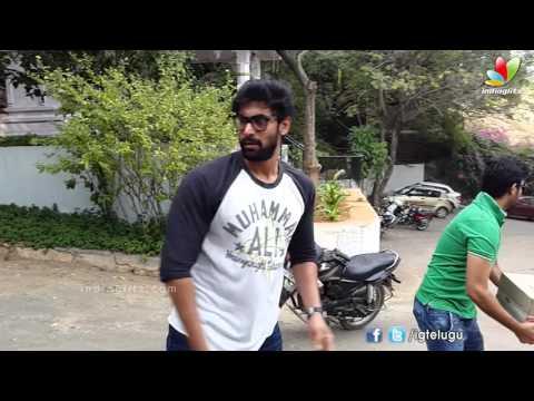 Rana Daggubati Contribution for Chennai Flood Relief Fund in RamaNaidu Studio