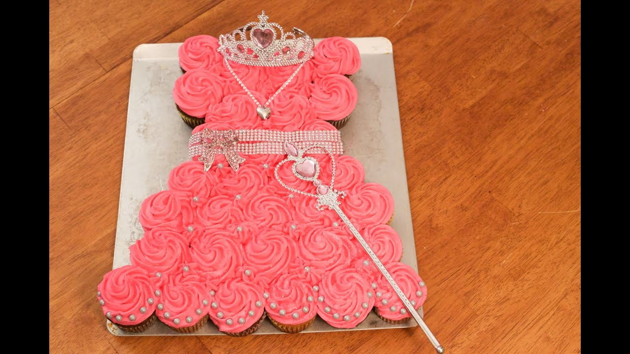 Princess Pull Apart Cake Youtube