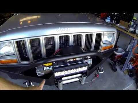 Jeep Cherokee Xj Light Bar Install