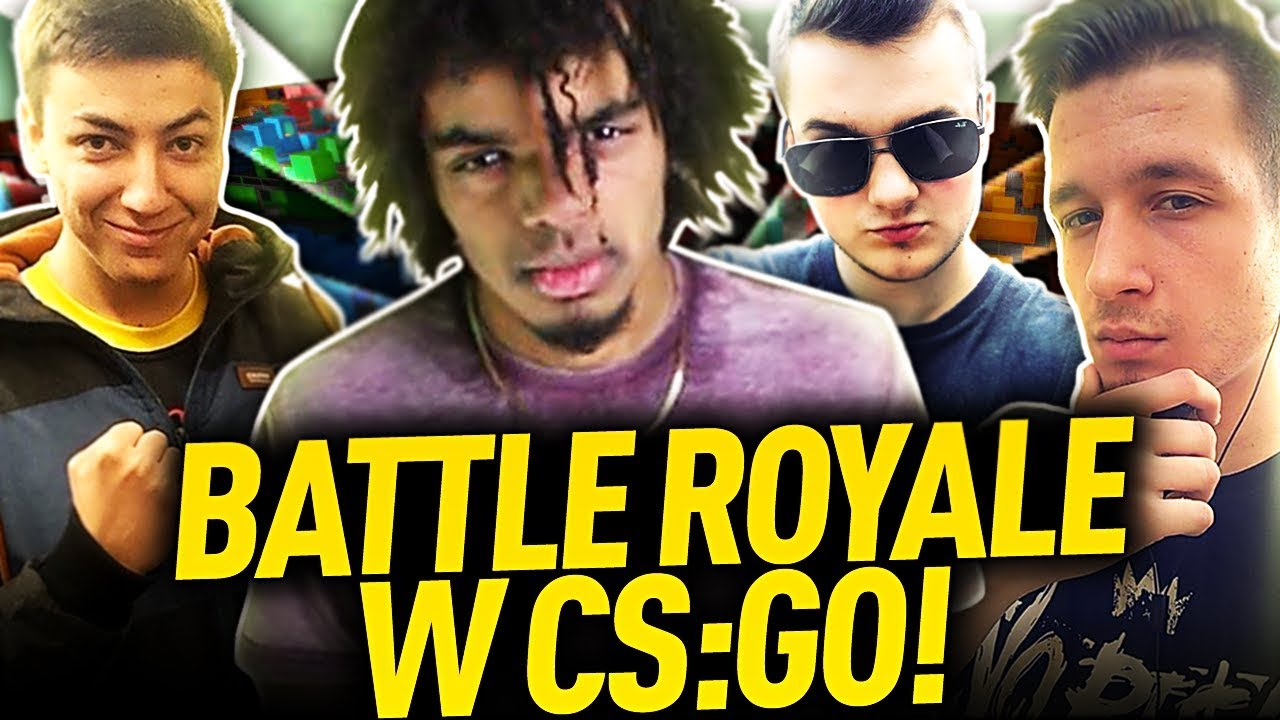 BATTLE ROYALE w CS:GO!