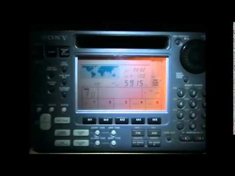 5915 Khz, Zambia NBC Radio, End of Programme