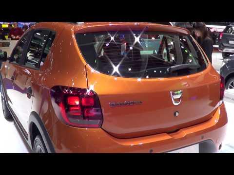 Dacia Sandero Stepway Geneva 2017 Facelift Led New Color palet