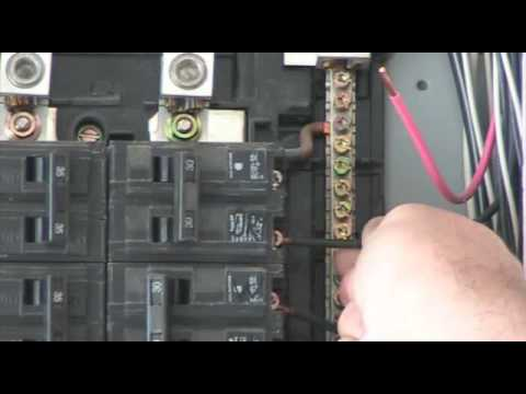 hqdefault how to change a breaker youtube how to change a fuse box to a breaker box at crackthecode.co