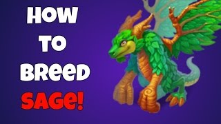 War Dragons - How to Breed Sage and review!