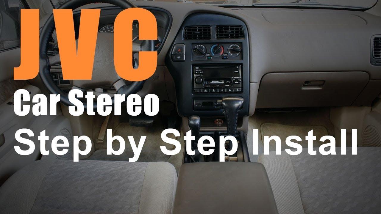 Nissan Pathfinder Bluetooth Car Stereo Install JVC KW-R925BTS ...