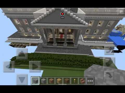Minecraft PE white house tour