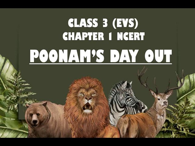 NCERT Class 3 EVS Chapter 1 Poonam's Day Out | CBSE Class 3 EVS Chapter 1