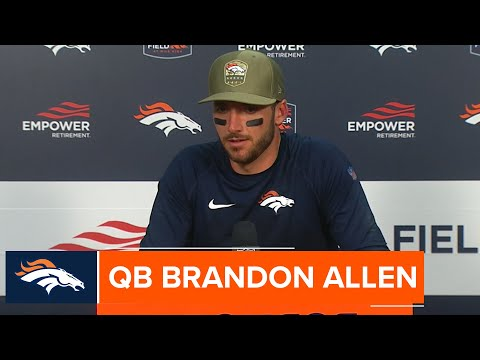 Brandon Allen: 'This is hopefully the first [win] of many'
