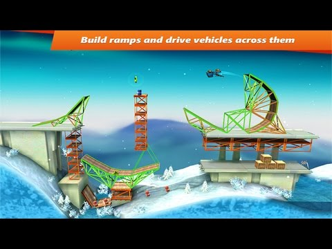 Bridge Constructor Stunts игра на Андроид и iOS