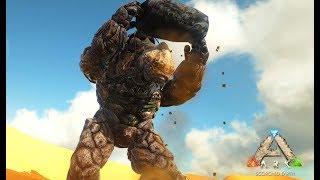 岩石の巨人 ロックエレメンタルを仲間にする - ARK Scorched Earth ゆっくり実況 #11