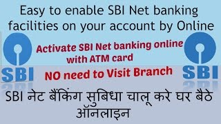 vuclip How to activate sbi net banking from debit card?