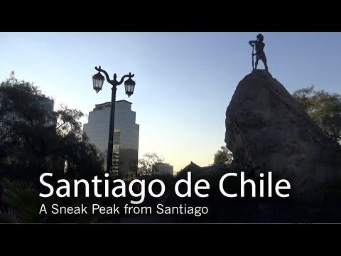 BurgmanChileTV - Daily Observations - Santiago de Chile - A Sneak peek from Santiago