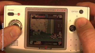 Classic Game Room - FATAL FURY: FIRST CONTACT review for Neo-Geo Pocket Color