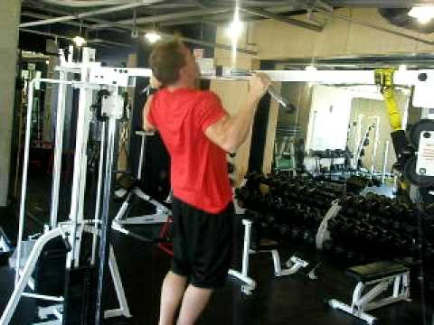 Calgary Herald Health Club: Wide grip pull ups
