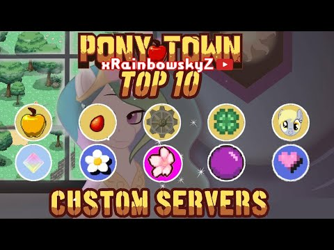 Pony Town   Top 10 Custom Servers ⭐