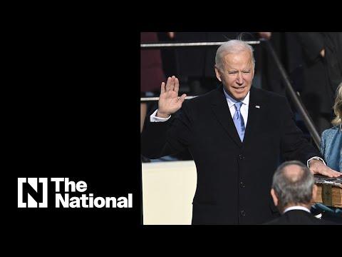 Live: Joe Biden inaugurated as US president