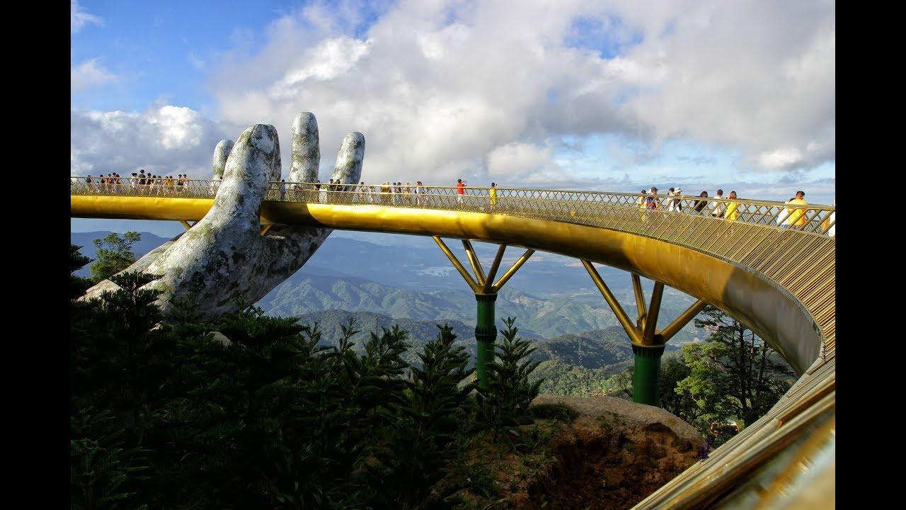 Cầu Vàng Đà Nẵng: Đi dạo qua bàn tay của trời