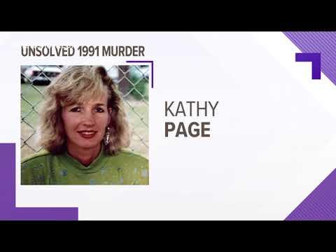 $6,000 reward for information leading to arrest in 1991 Kathy Page murder