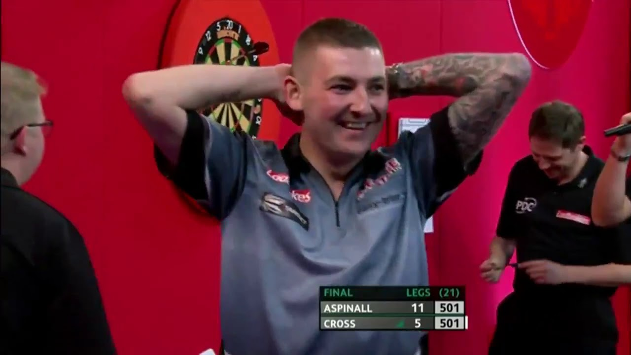 Nathan Aspinall 170 Checkout to Win the 2019 PDC UK Open - YouTube