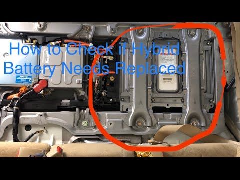 How To Check If You Need A New Hybrid Battery Honda Civic Hybrid 06-11 Force Charge