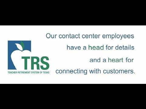 Teacher Retirement System of Texas: Benefit Services