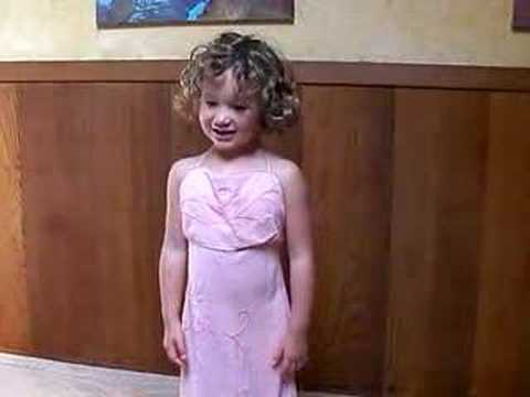 A Three-Year-Old Answers Miss Teen USA 2007 - South Carolina