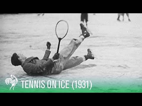Tennis On Ice! - The New Sport of 1931