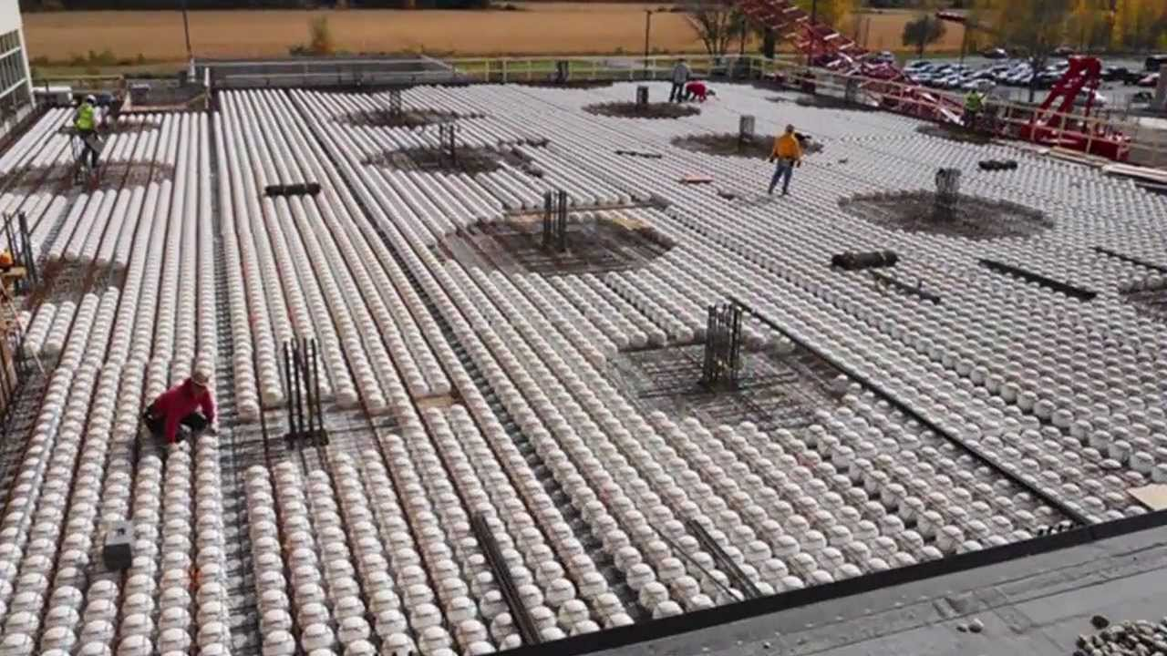 2012 Nova Award Winner Bubble Filled Concrete Deck