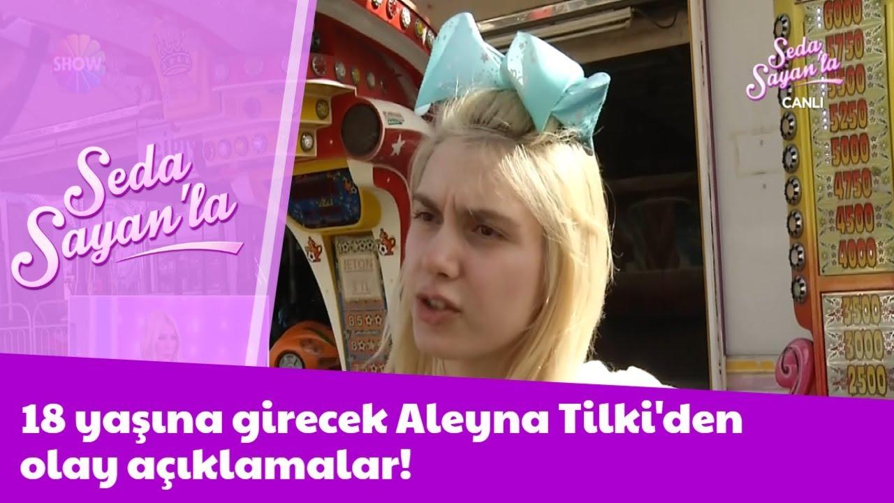 Aleyna Tilkiden sürpriz açıklama