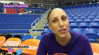 Diana Taurasi interview talks WNBA on nba live 18 , sneakers