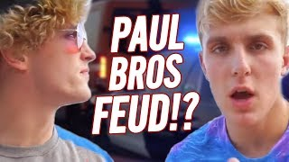 LOGAN PAUL VS  JAKE PAUL   THE FEUD CONTINUES