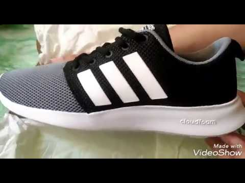 a71c022ea Unboxing Adidas Cloudfoam Swift Racer - YouTube