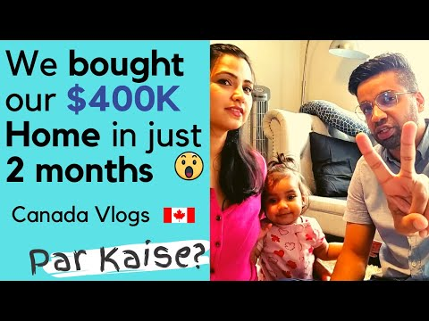 We Bought Our $400,000 House In Canada🇨🇦 | First Time Home Buyers Tips | Young Canadian Family