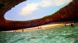Marietas Islands Puerto Vallarta Nuevo Vallarta Mexico hidden Beach las islas marietas