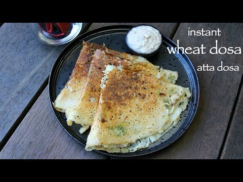 Wheat Dosa Recipe For Diabetes | Instant Wheat Flour Dosa | Godhuma Dosa Or Godhi Dose