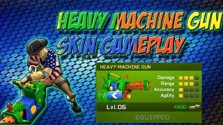 RESPAWNABLES | HEAVY MACHINE GUN SKIN GAMEPLAY