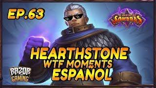MEJORES MOMENTOS HEARTHSTONE ESPAÑOL 63