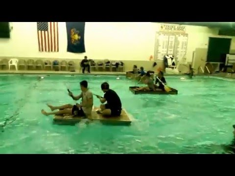 Tyrone Area High School Cardboard Boat Races